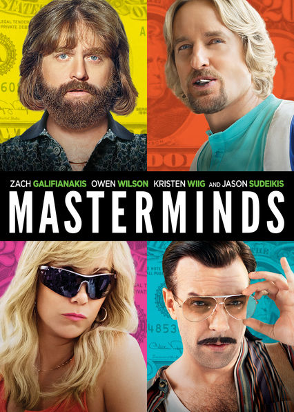 Masterminds on Netflix USA
