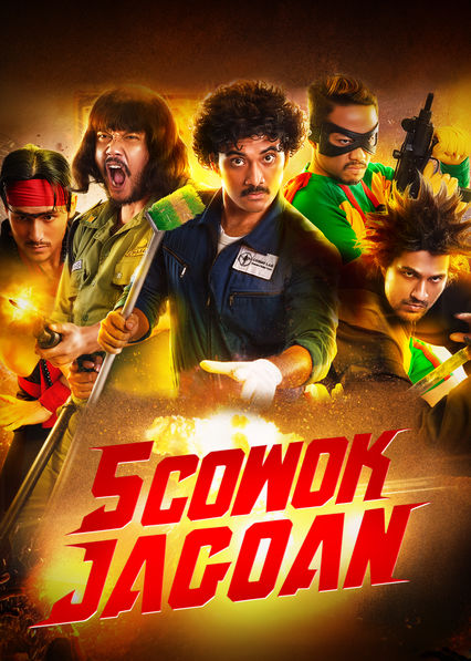 5 Cowok Jagoan on Netflix USA