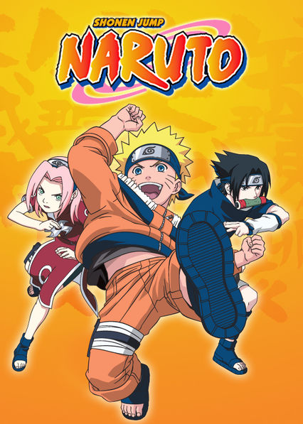 Naruto on Netflix USA
