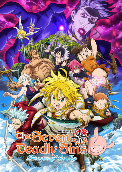 The Seven Deadly Sins the Movie: Prisoners of the Sky on Netflix USA