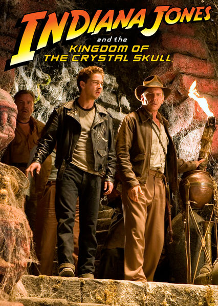 Indiana Jones and the Kingdom of the Crystal Skull on Netflix USA