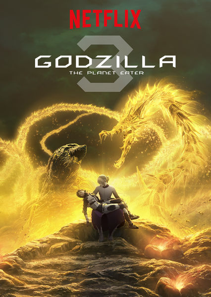 GODZILLA The Planet Eater on Netflix USA