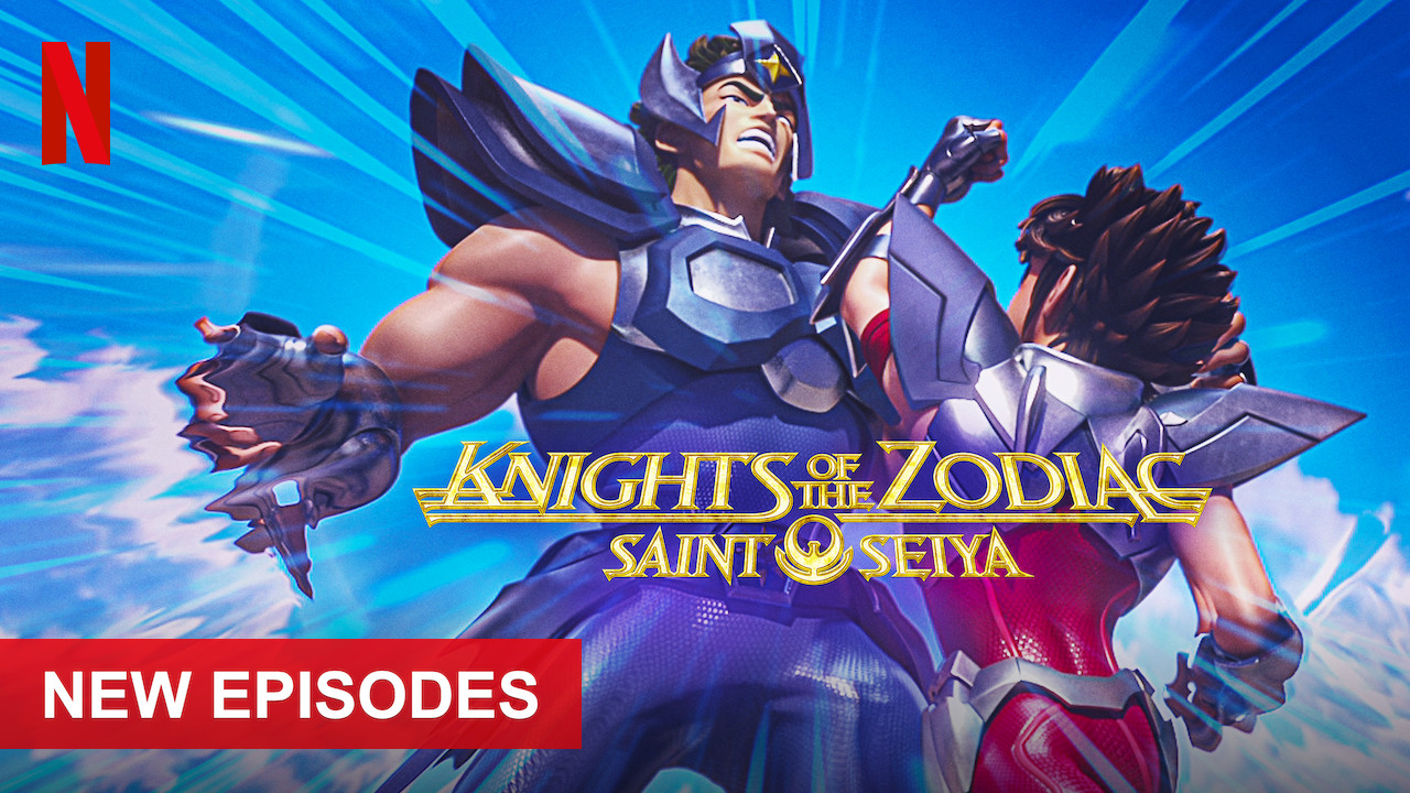 SAINT SEIYA: Knights of the Zodiac on Netflix USA