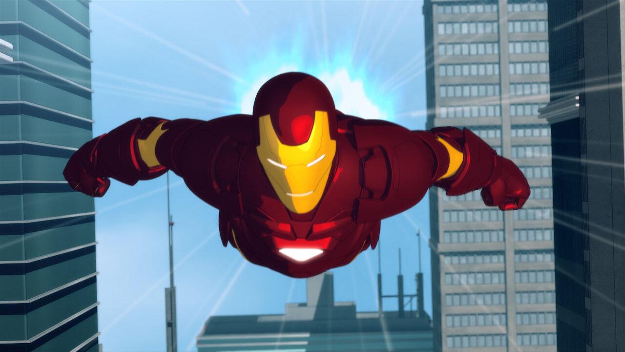 Iron Man Aventuras De Hierro Netflix