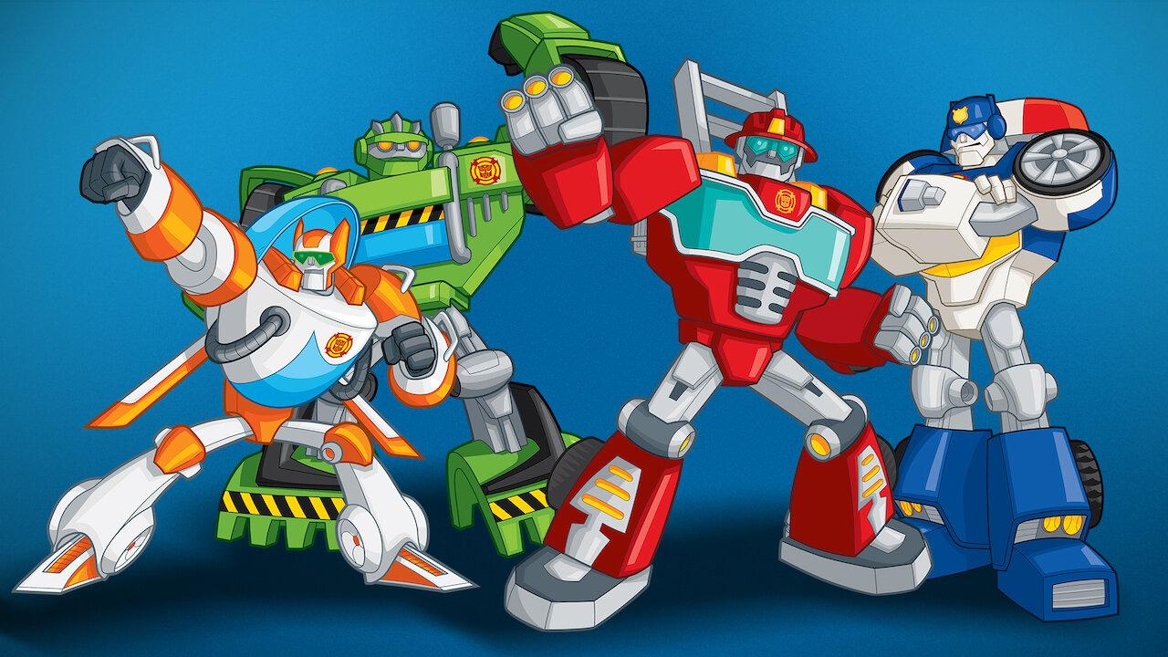 Transformers: Rescue Bots | Netflix