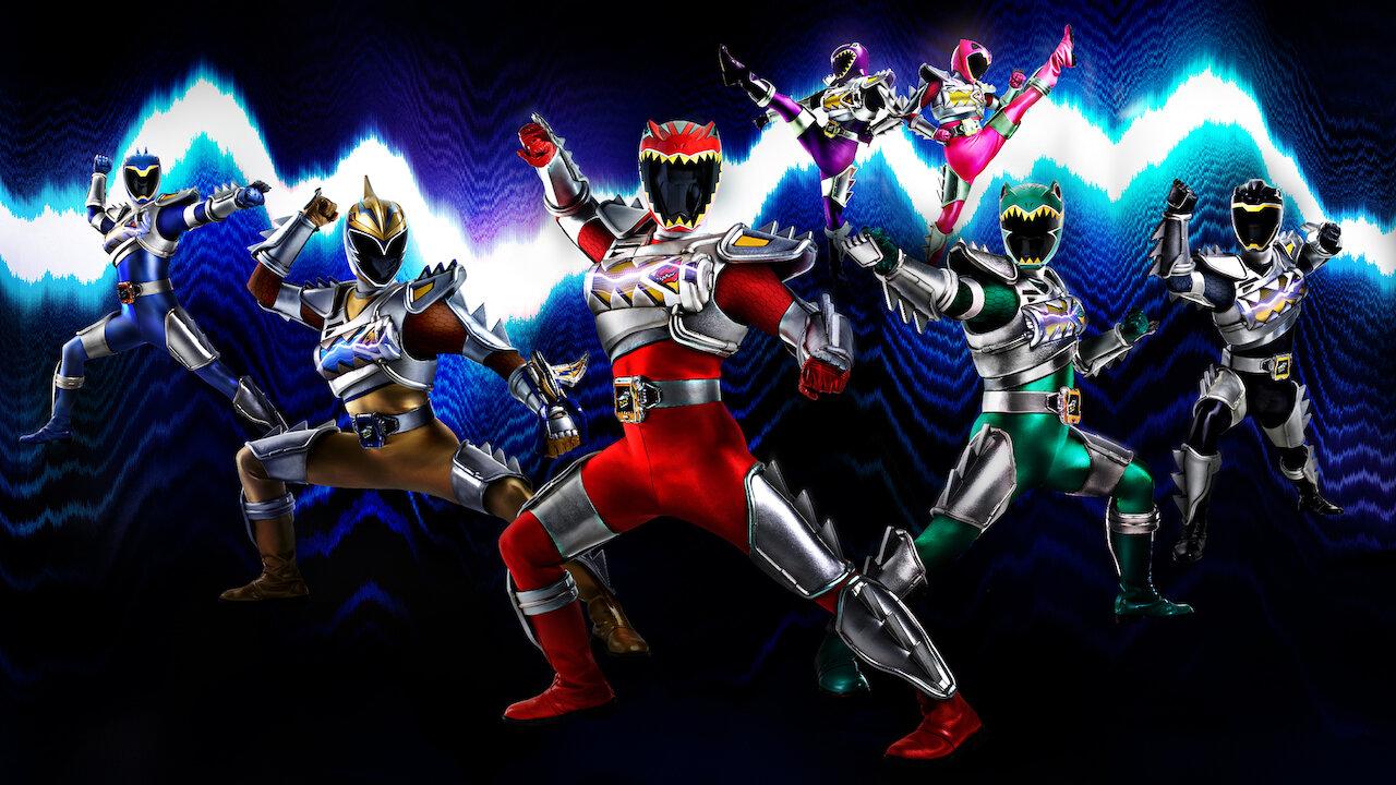 - Power Rangers Dino Super Charge Netflix