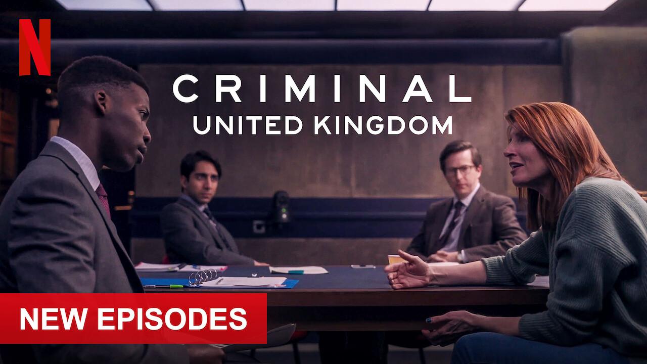 Criminal: UK on Netflix USA