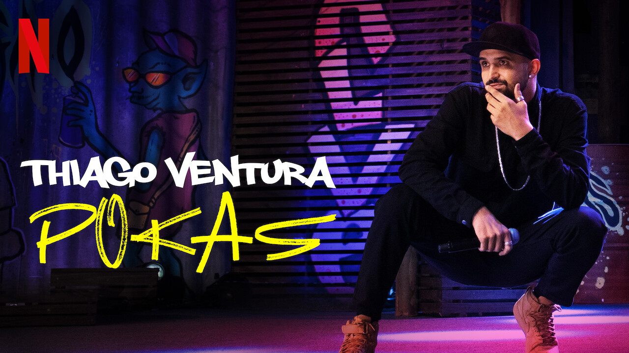Thiago Ventura: POKAS on Netflix USA