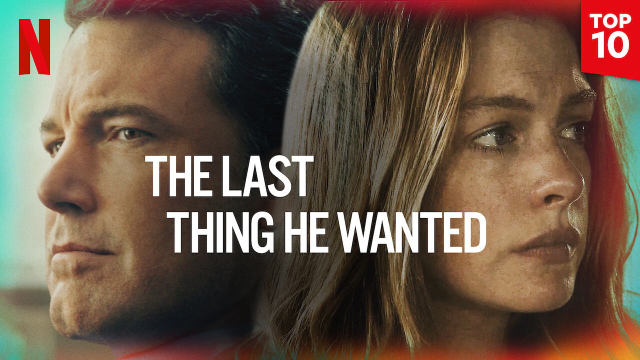 The Last Thing He Wanted on Netflix USA
