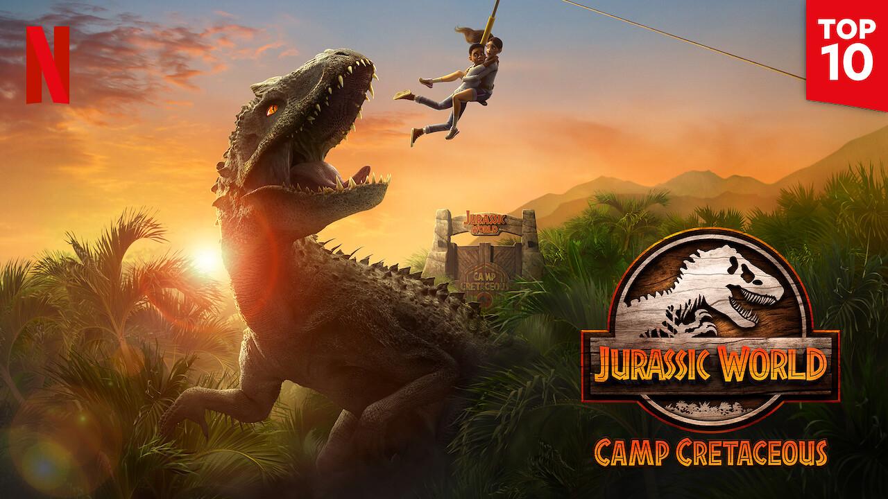 Jurassic World Camp Cretaceous on Netflix USA