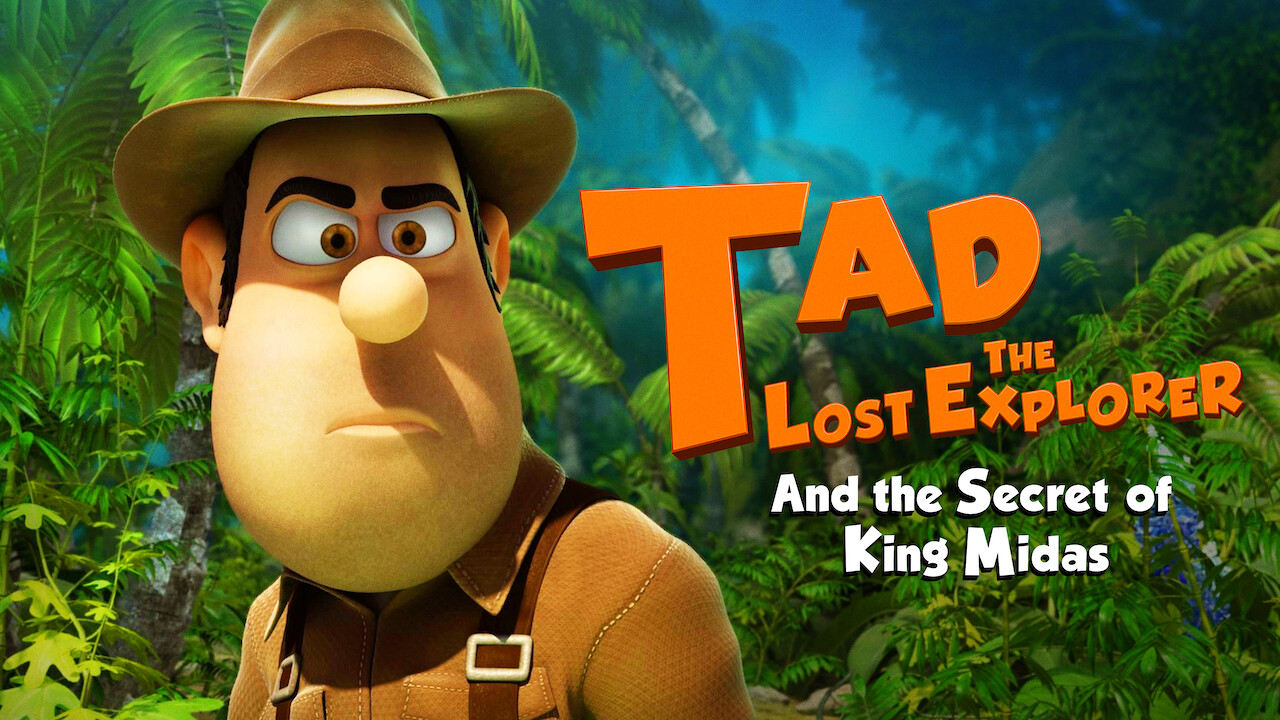Tad the Lost Explorer and the Secret of King Midas (English Version) on Netflix USA