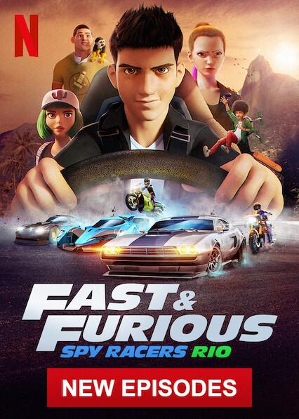 Spy Racers Fast & Furious sur Netflix USA