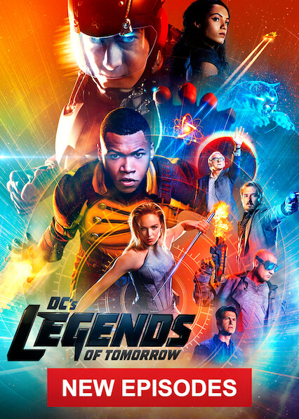 DC's Legends of Tomorrow on Netflix USA