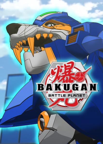 Bakugan: Battle Planet sur Netflix USA