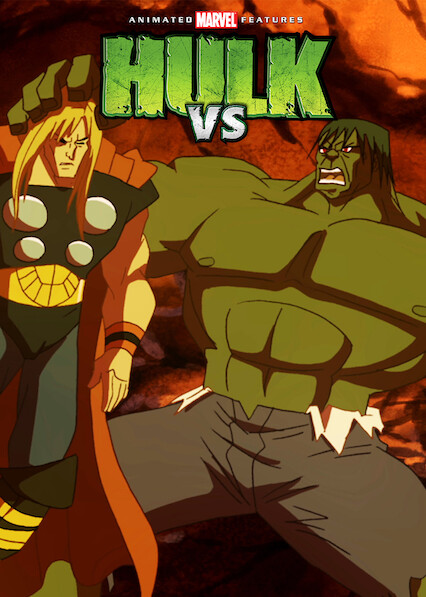 Hulk Vs. on Netflix USA