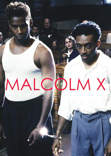 Malcolm X sur Netflix USA