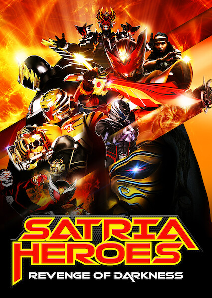 Satria Heroes: Revenge of the Darkness sur Netflix USA