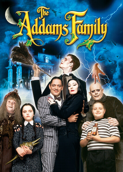 The Addams Family on Netflix